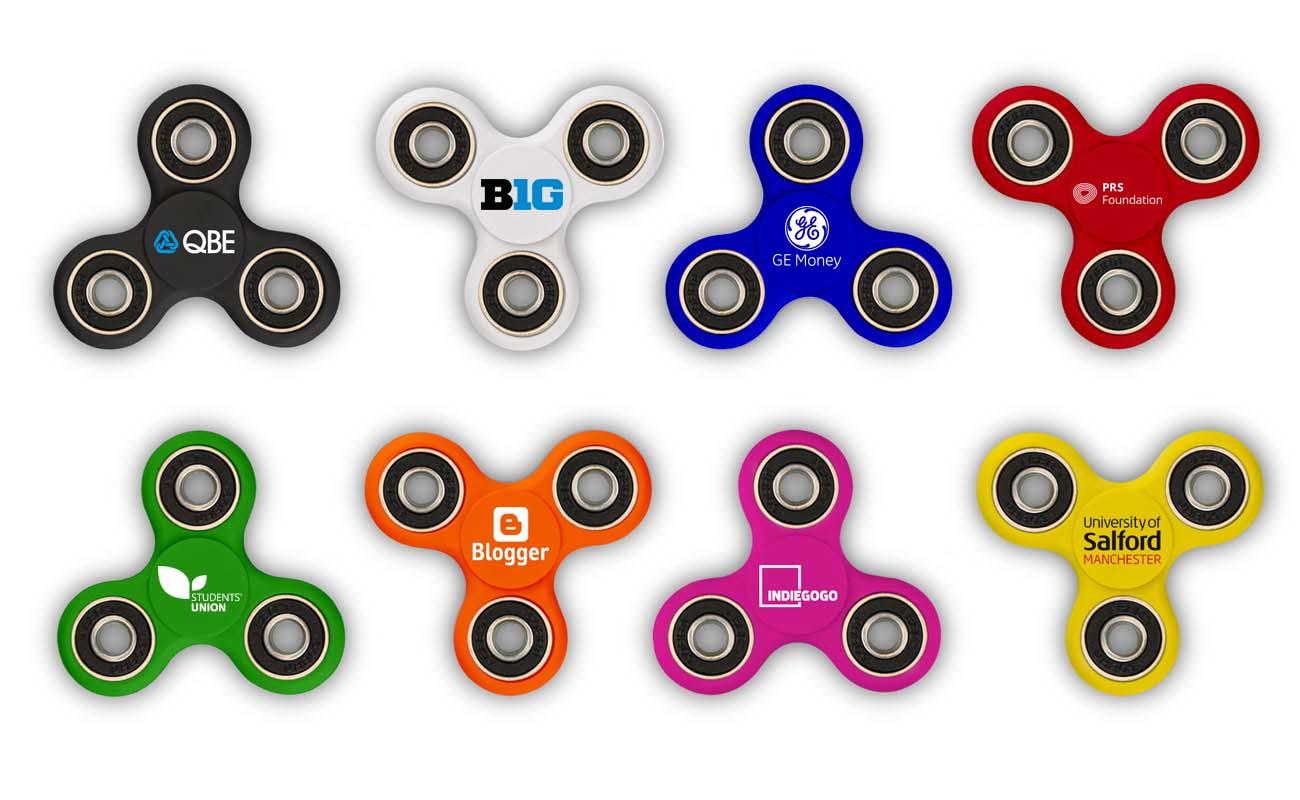 Sport - Fidget Spinner mit Logo