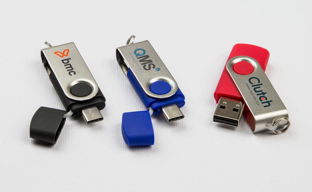 Twister Go - USB Stick Bedrucken