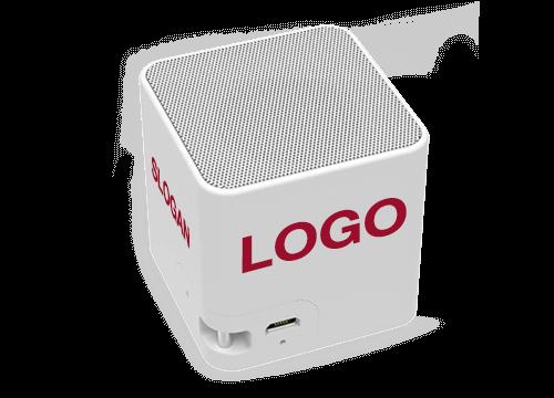 Cube - Bluetooth Lautsprecher mit Logo
