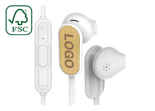 Grain Bluetooth® - Wireless Ohrhörer Bedrucken Lassen