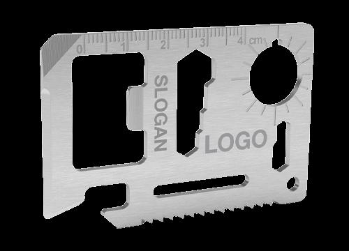 Kit - Logobedrucktes Kreditkarten Multiwerkzeug