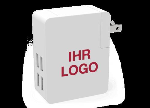 Latitude - USB Reiseladegerät Günstig Bedrucken