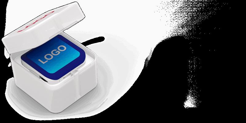 Boost - Powerbank Mit Gravur