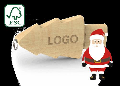 Christmas - USB Stick Firmenlogo