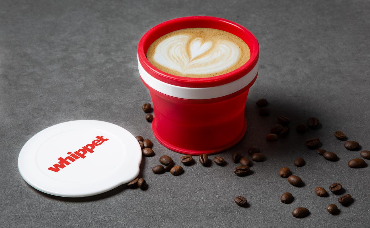 Compresso - Werbe-Reisebecher