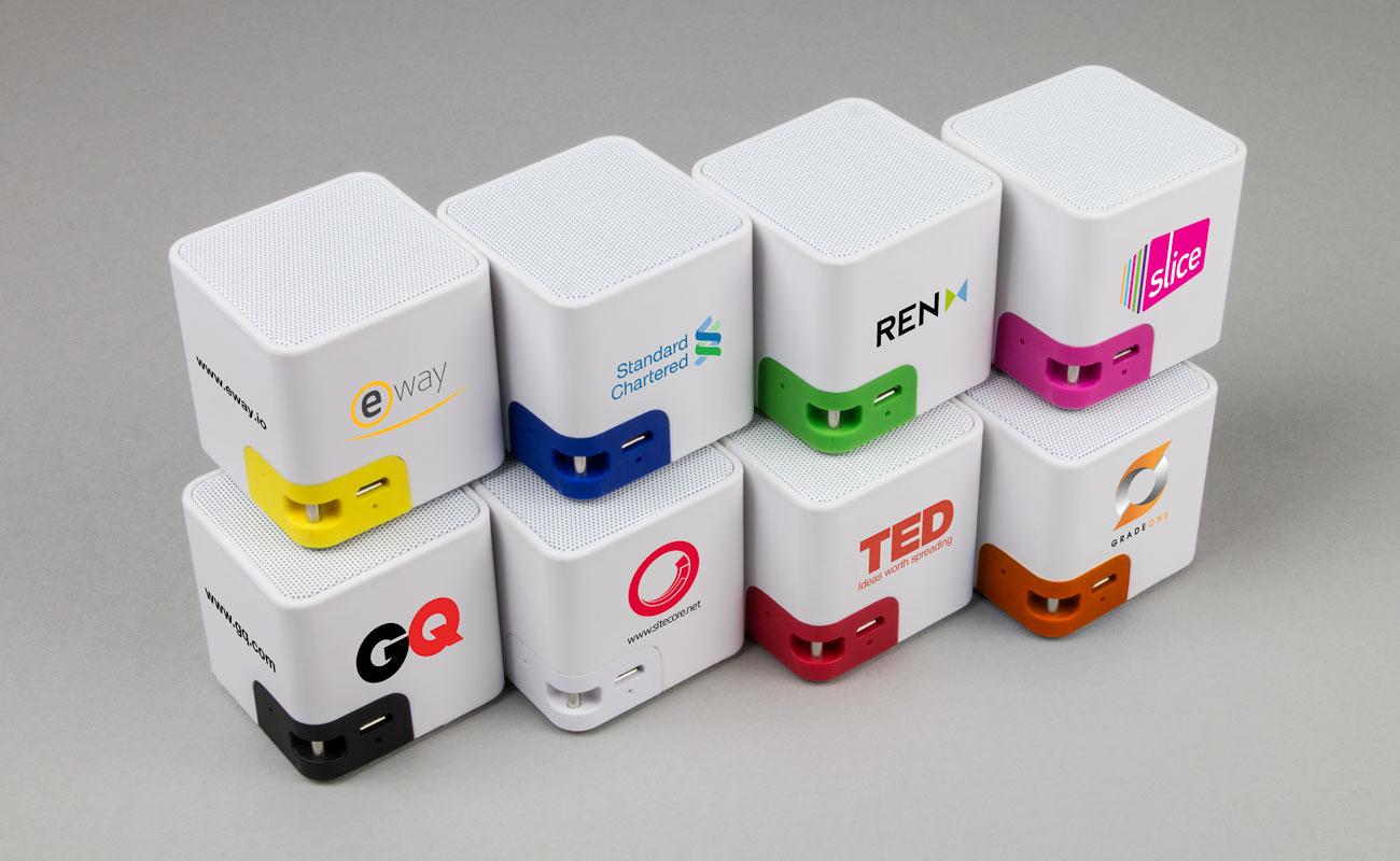 Cube - Personalisierte Lautsprecher