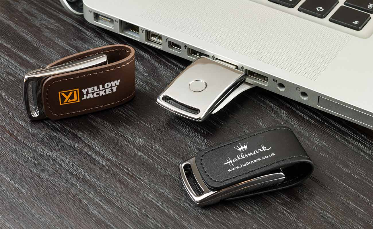 Executive - USB Stick Leder