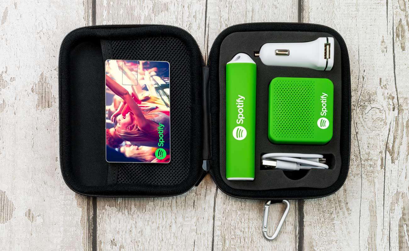 Impact L - USB Stick Bedrucken, Powerbank Mit Gravur, Custom Car Charger und Lautsprecher Hersteller