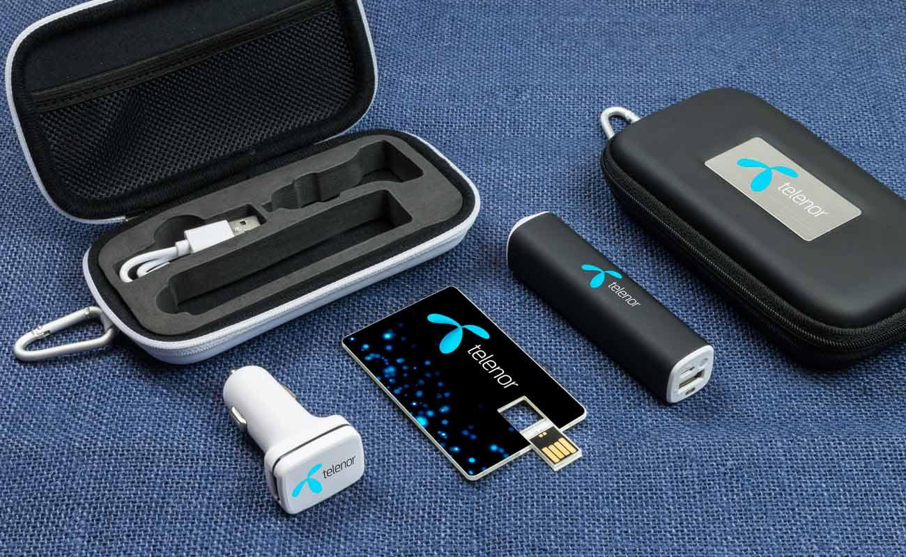 Impact M - USB Stick Bedrucken, Powerbank Mit Gravur und Custom Car Charger