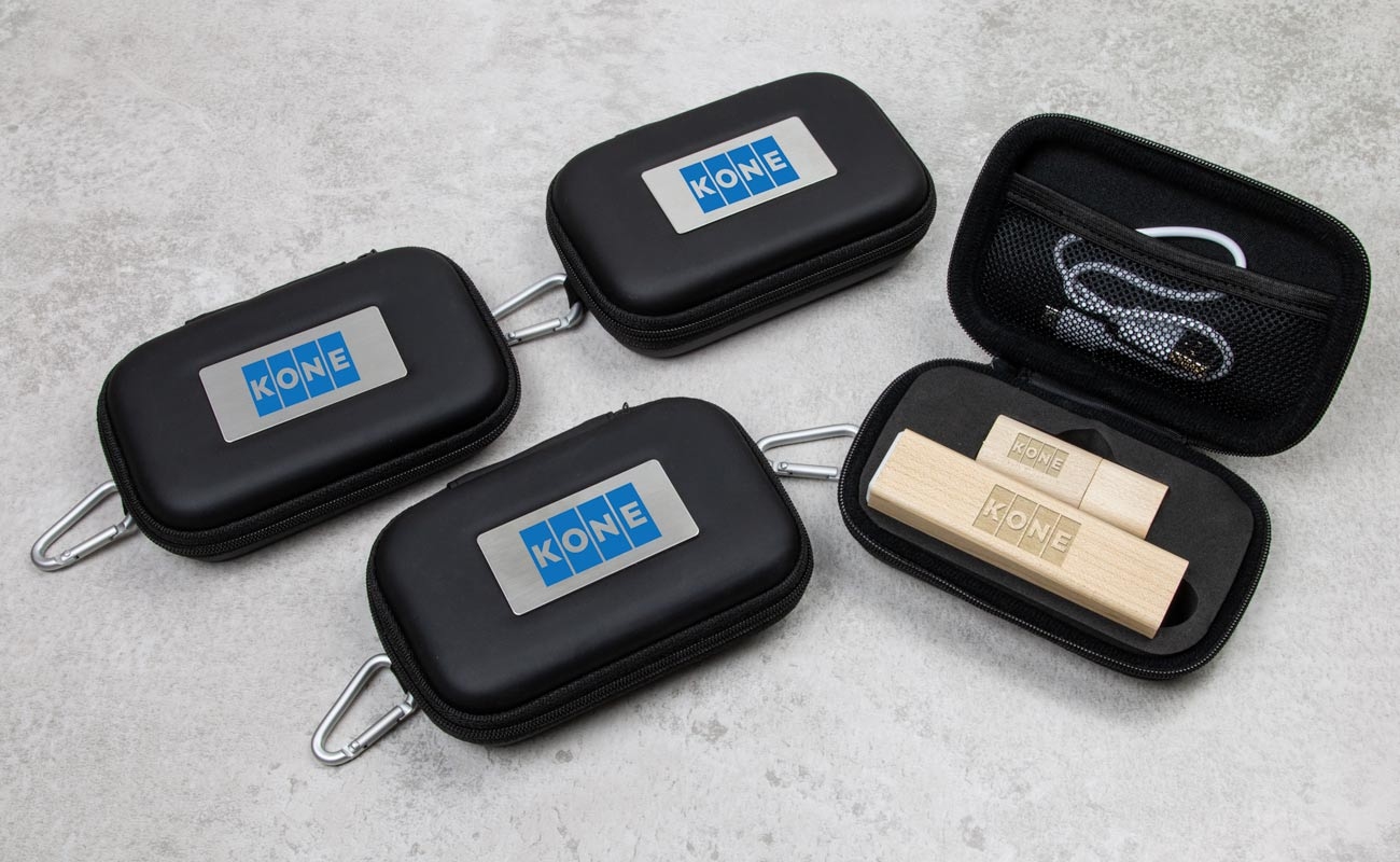 Maple S - USB Stick Bedrucken und Powerbank Mit Gravur