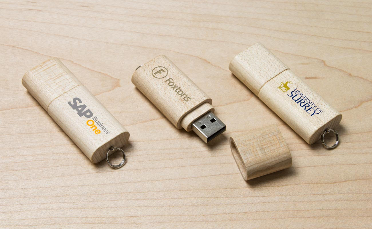 Nature - USB Stick Holz