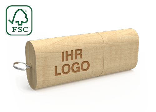 Nature - USB Sticks Aus Holz
