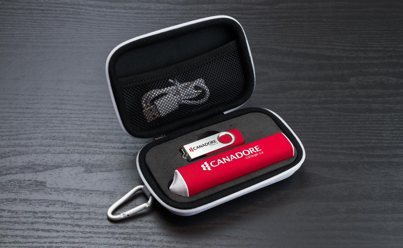Pure S - USB Stick Bedrucken und Powerbank Mit Gravur