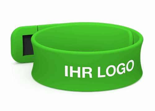 Slap - USB Armband mit Logo